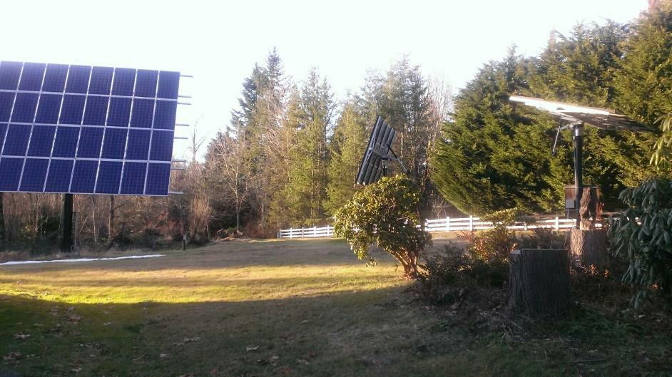 Maple Valley, WA - Tracker maintenance day!!