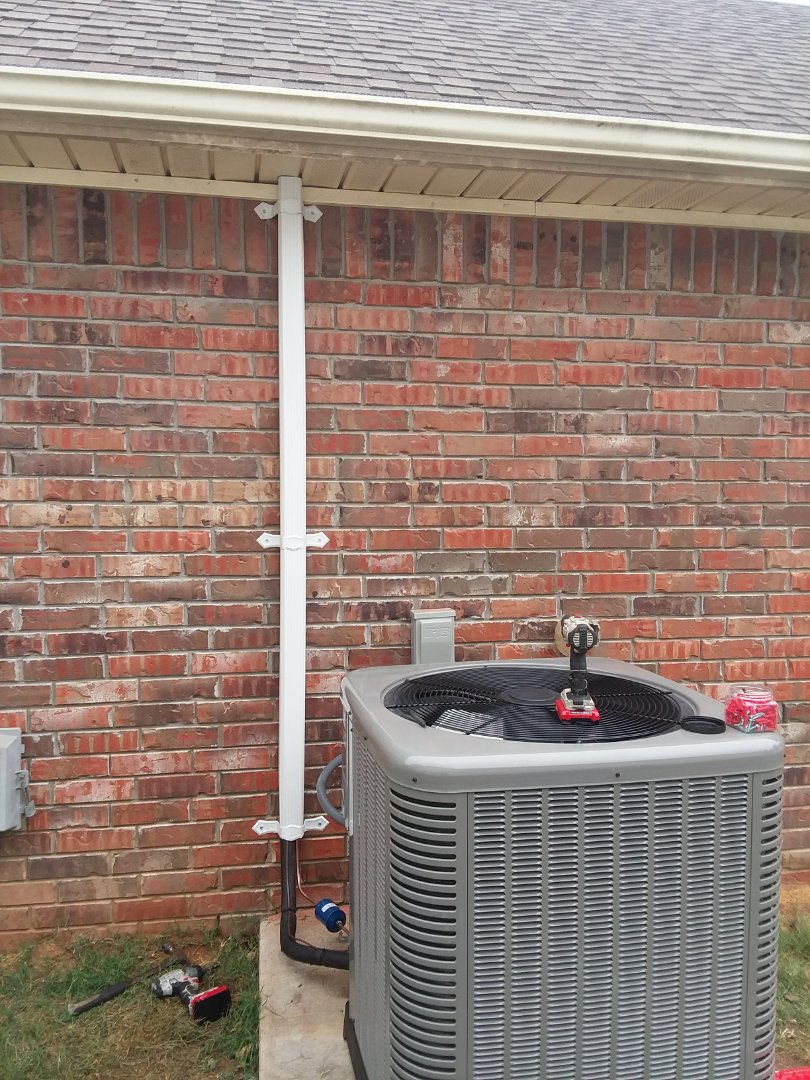Fort Smith, AR - Installing a Rheem unit for a great family in Fort Smith, AR.