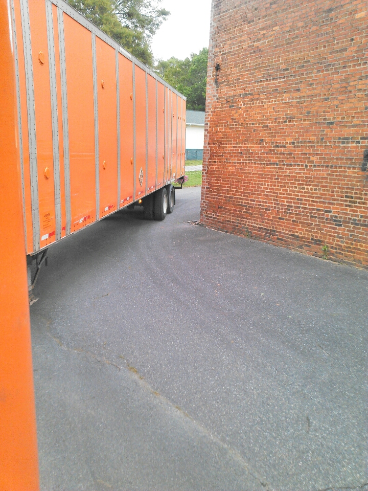 Gastonia, NC - Just dropped and picked trailers of chairs for Carey Moving & Storage.