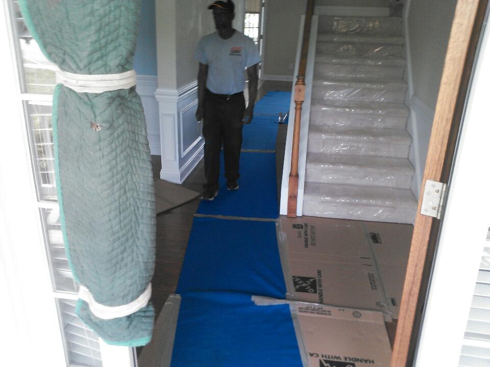 Unloading at Broadleaf Dr- Montgomery, AL