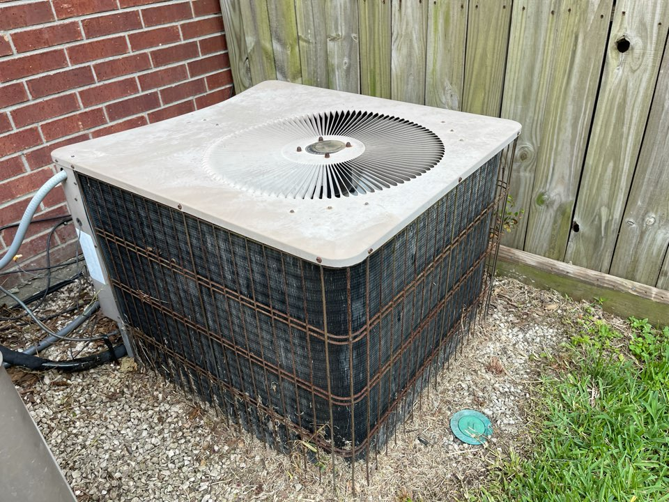 Ac service. Performed an ac repair on an Armstrong ac unit.