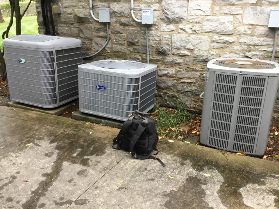 La Vergne, TN - Residential maintenance on 3 systems