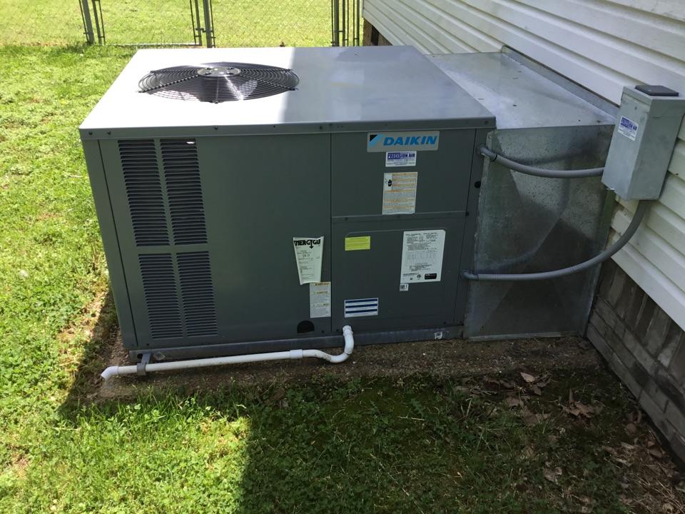 Spring Hill, TN - Residential maintenance on unit