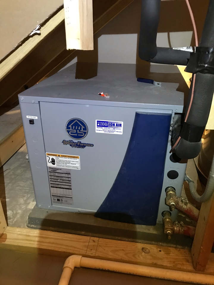 Nashville, TN - Completed cooling RMA on 5 geothermal systems and accessories