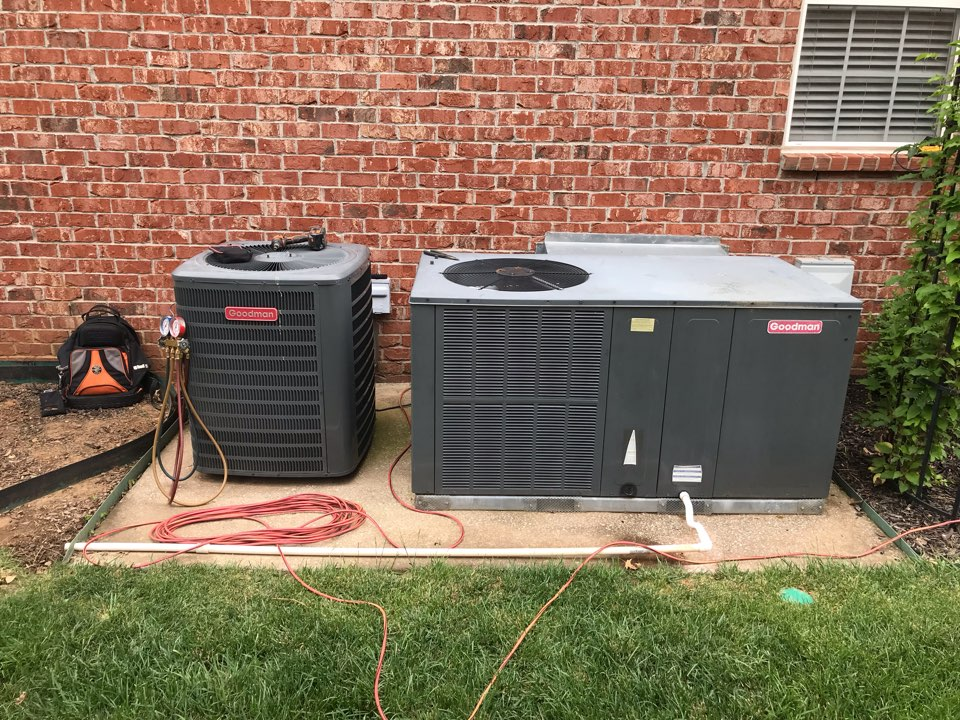 Murfreesboro, TN - Inspected unit expected of having a leak. No leak found, system back in operation.