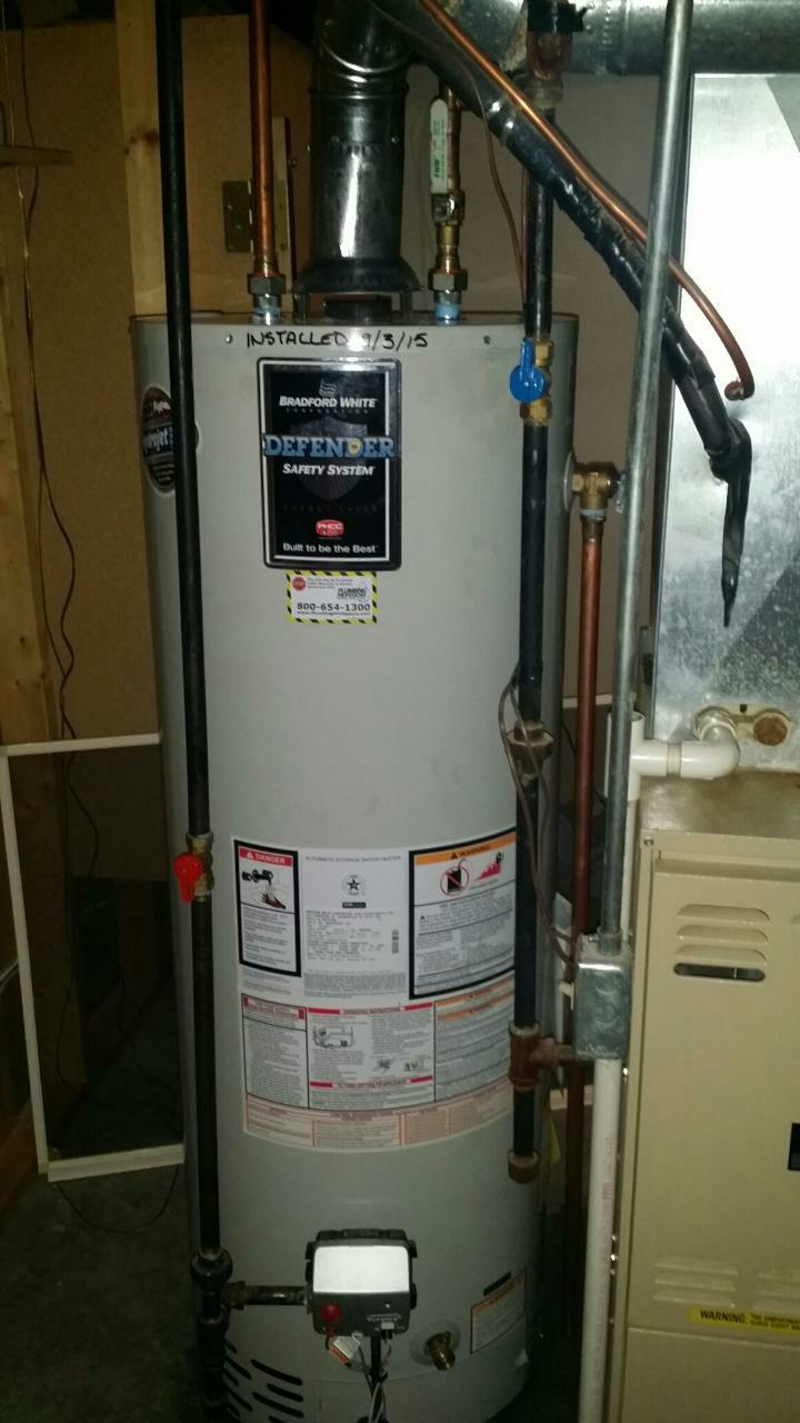 Howell, MI - Water heater install.Water leaking.Water heater