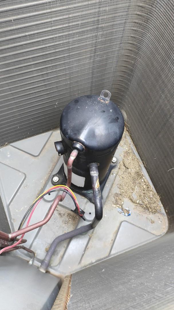 Garland, TX - Diagnosed a broken compressor on a Lennox AC.