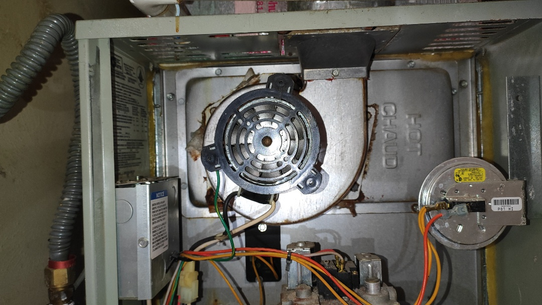 Fixed a Trane furnace that needed a new inducer.