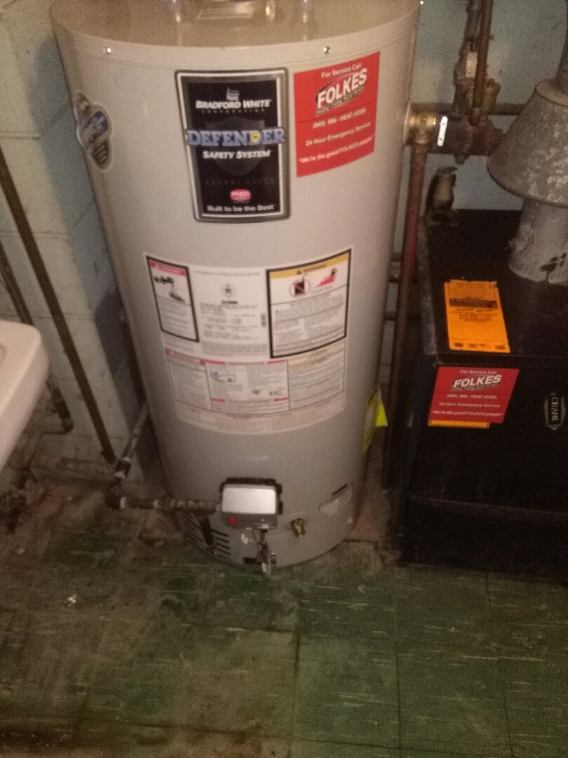 Wappingers Falls, NY - New hot water heater install