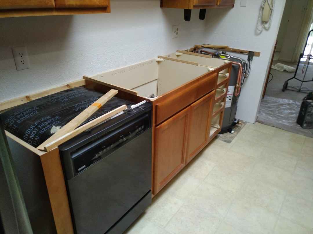 Tempe, AZ - Fixing a kitchen for a customer in Tempe