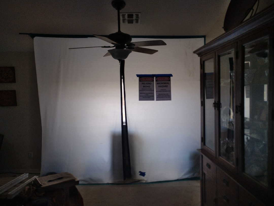 Avondale, AZ - Performing a mold remediation for a customer in Avondale
