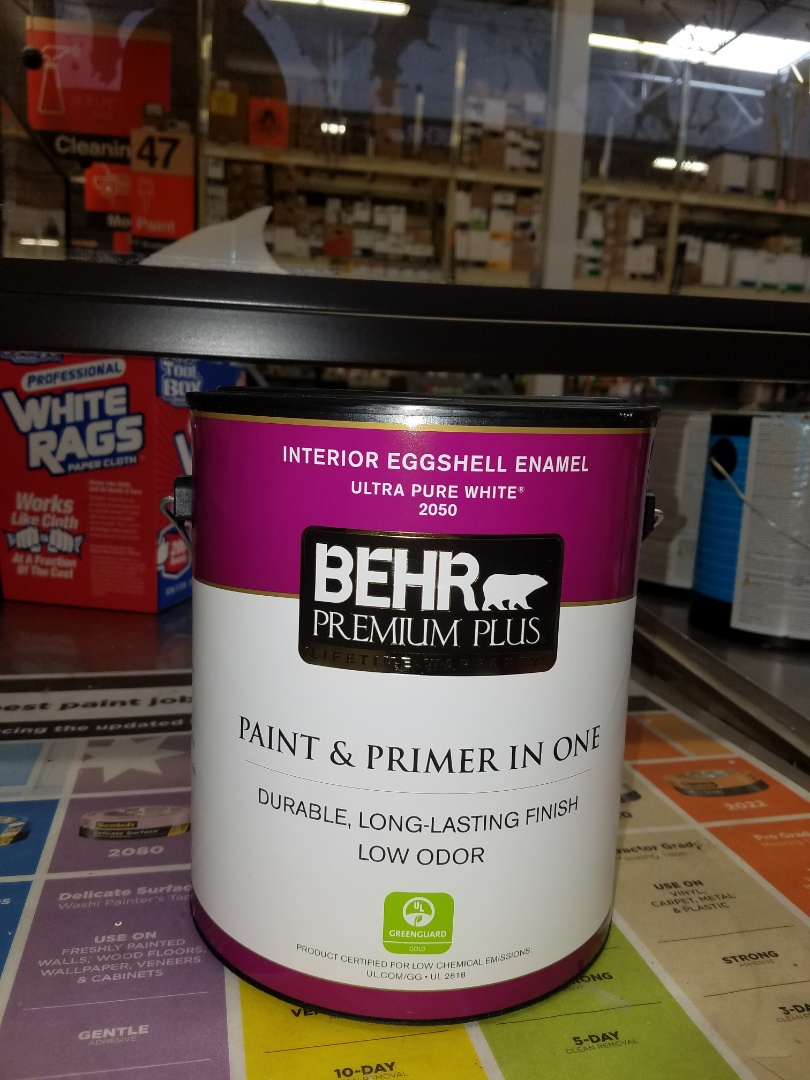 Tempe, AZ - Purchasing paint for a commercial building ceiling repair.