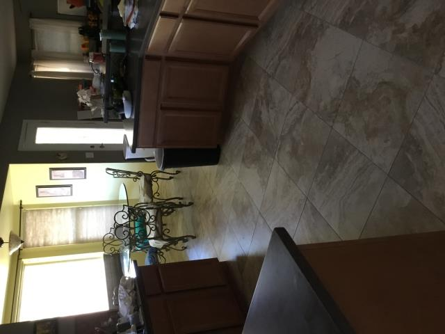 Gilbert, AZ - Did a final clean in this Gilbert home after tile floor installation.
