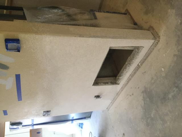 Peoria, AZ - Working on installing new drywall for a family in Peoria after home flooded.