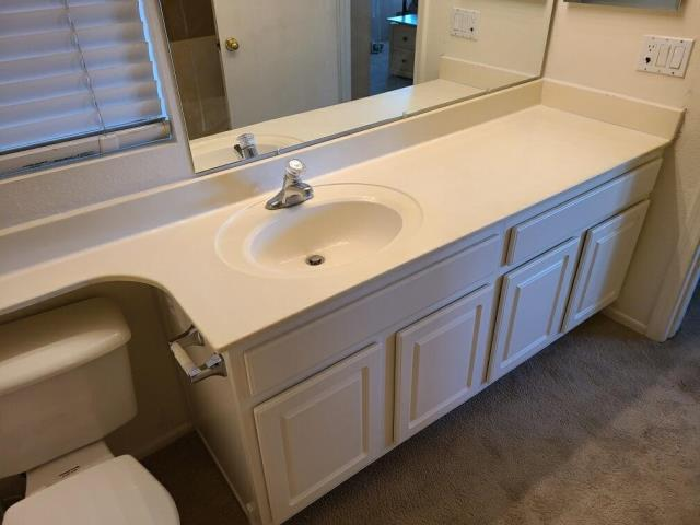 Chandler, AZ - Finished the rebuild of members vanity and installed it.