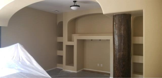 Buckeye, AZ - Finished painting the interior of members home after having a fire loss in Buckeye, AZ.