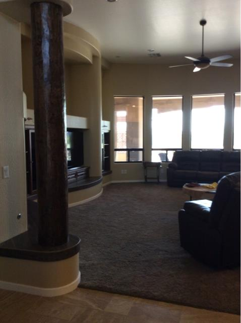 Buckeye, AZ - Completed interior content put back after a family's home got painted in Buckeye, AZ.