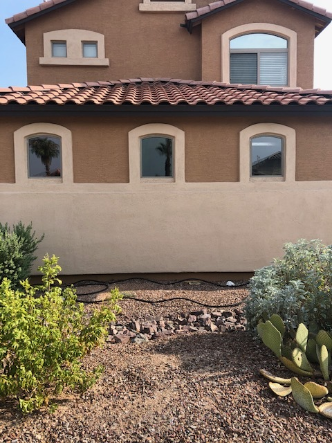 Goodyear, AZ - Finished installing new windows for a family in Goodyear, AZ after they had a garage fire.