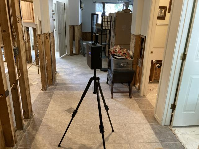 Phoenix, AZ - Estimating repairs for a couple in Phoenix. Damage was caused by a leaking refrigerator water supply line. ACR uses Matterport technology to create an accurate estimate and scope of work.
