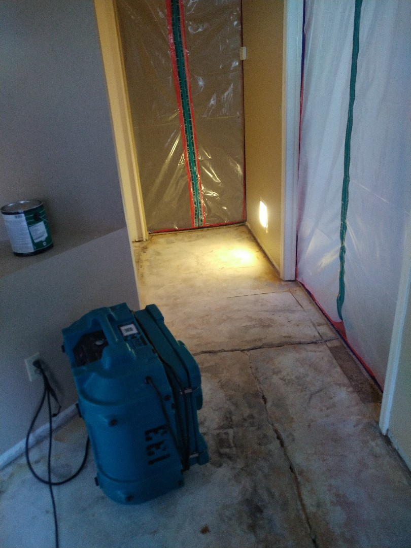 Removing a floor for a customer in Phoenix