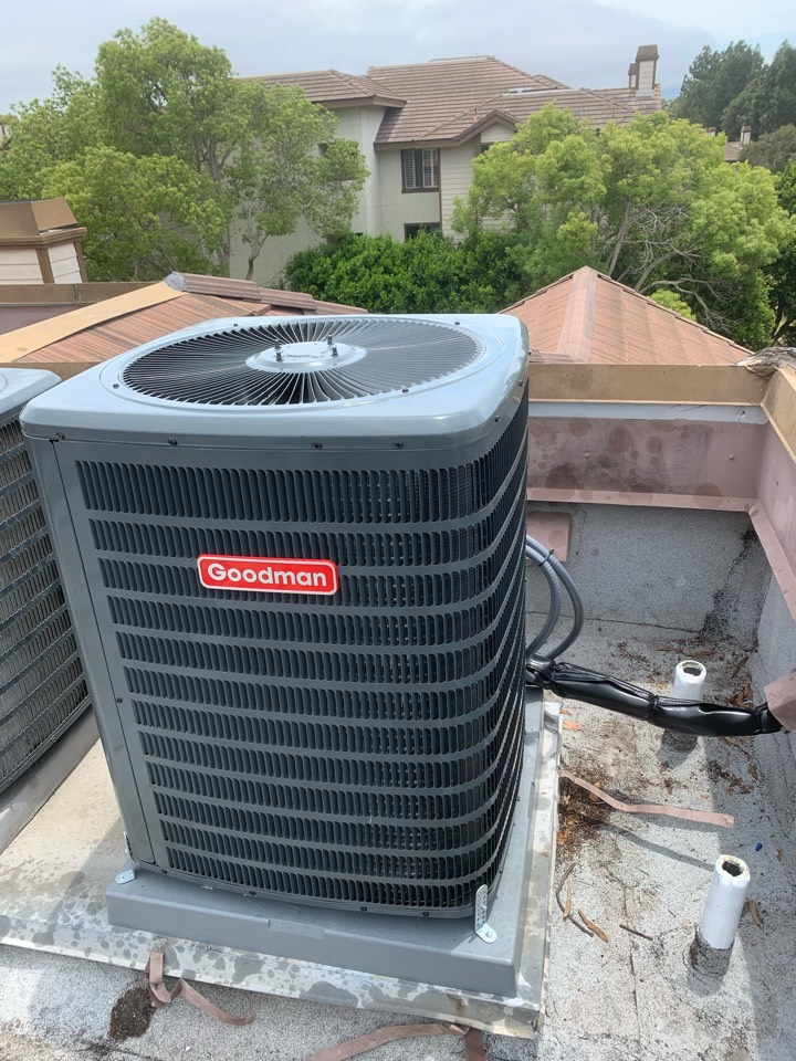 Cerritos, CA - Another beautiful installation for a rooftop system. The customer is really happy.