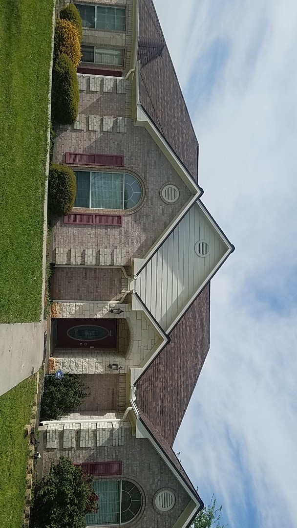 Sherman, TX - A beautiful Owens Corning duration Brownwood roof by Lankford Roofing in Sherman Texas say