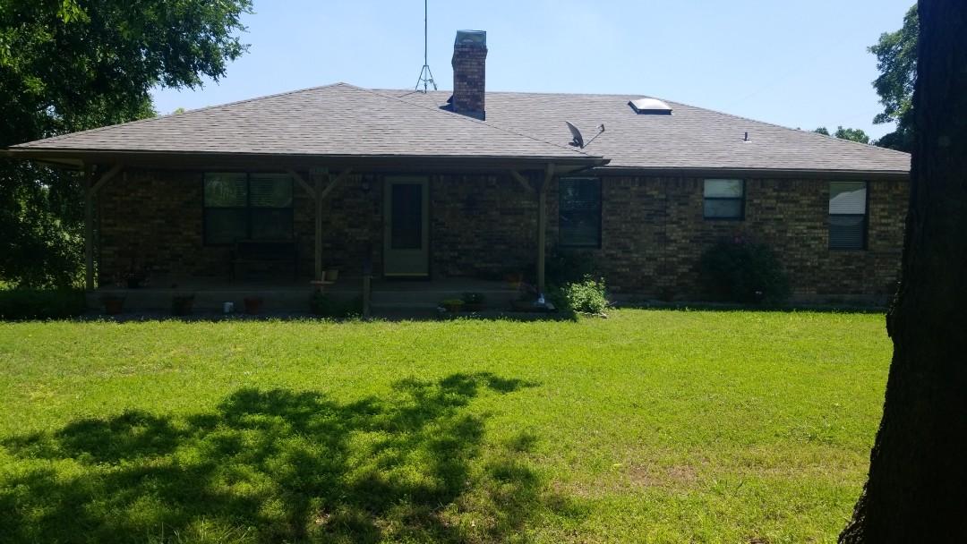 Van Alstyne, TX - New Owen's Corning Driftwood Roof in Van Alstyne