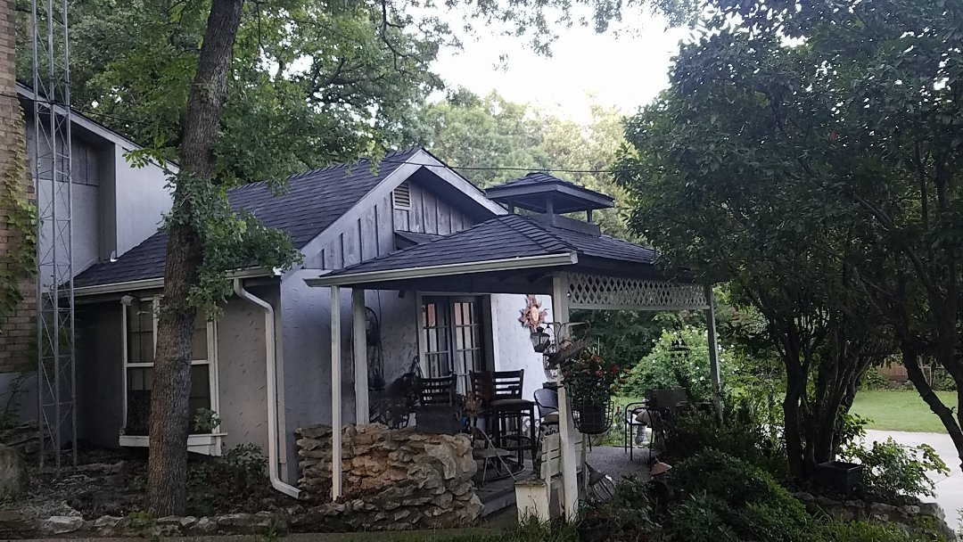 Pottsboro, TX - New Peppermill Gray Owens Corning roof by Langford Roofing in north Texas