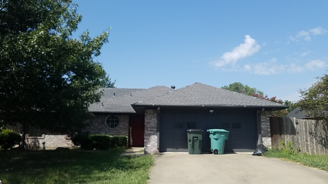 Sherman, TX - Did a small repair replaced about six bundles of shingles on a beautiful home in Sherman  Texas by Lankford Roofing