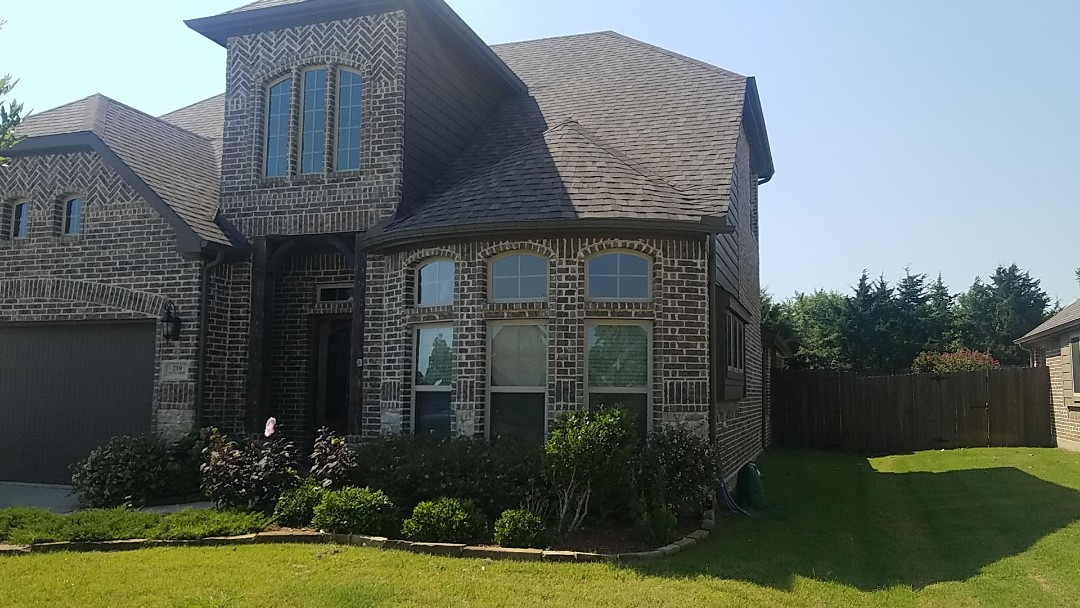Sherman, TX - Get a small repair on some flashing above a bay window on a beautiful home in Denison Texas by Lankford Roofing