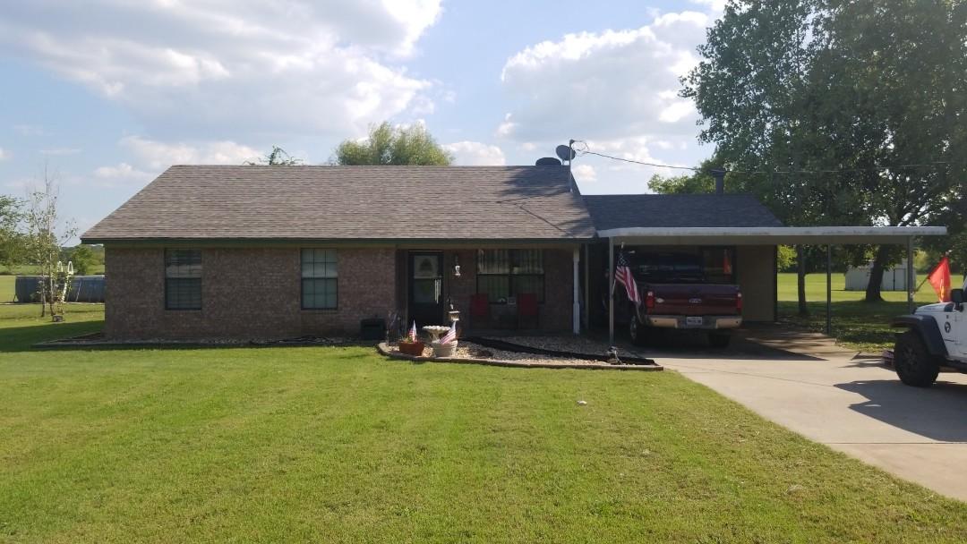 Sherman, TX - New Owen's Corning Oakridge Driftwood roof here in Sherman