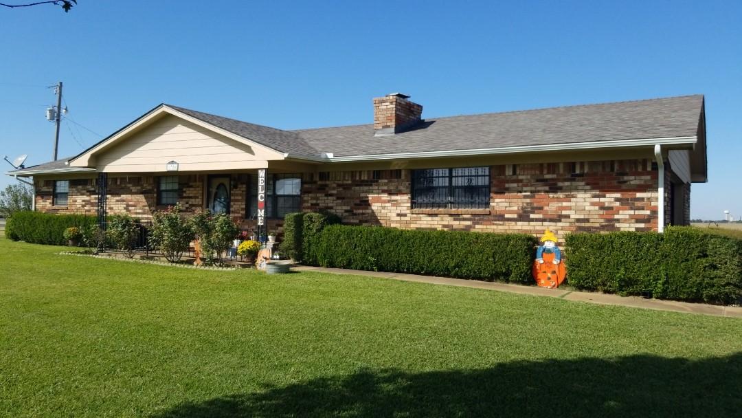 Durant, OK - New Owen's Corning Oakridge Driftwood roof here in Calers, Oklahoma