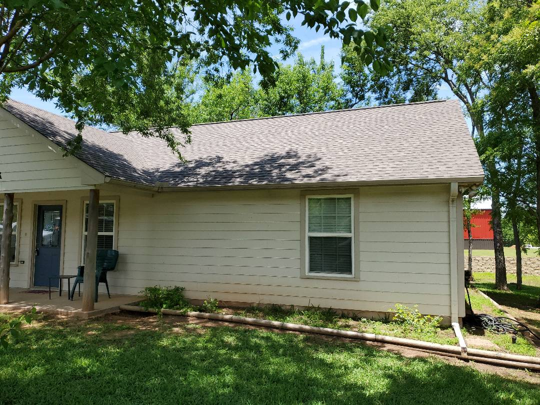 Pottsboro, TX - Beautiful new JF weathered wood roof with ridgeman in Grayson County Texas for really nice gentlemen by Lankford Roofing