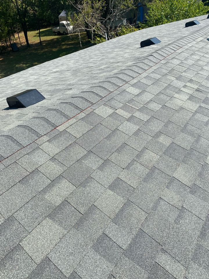 Gordonville, TX - Lankford Roofing just completed a re-roof with Owens Corning Oakridge Estate Gray shingles in Gordonville.