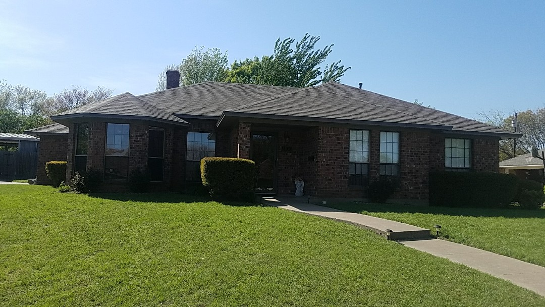 Sherman, TX - Just installed a new roof