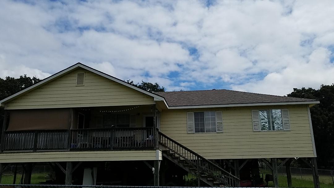 Cartwright, OK - Beautiful new Owens Corning flagstone roof