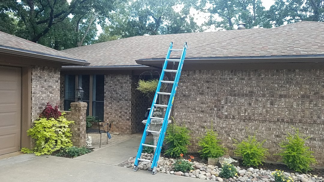 Denison, TX - Did some minor repairs on a beautiful home in Denison Texas