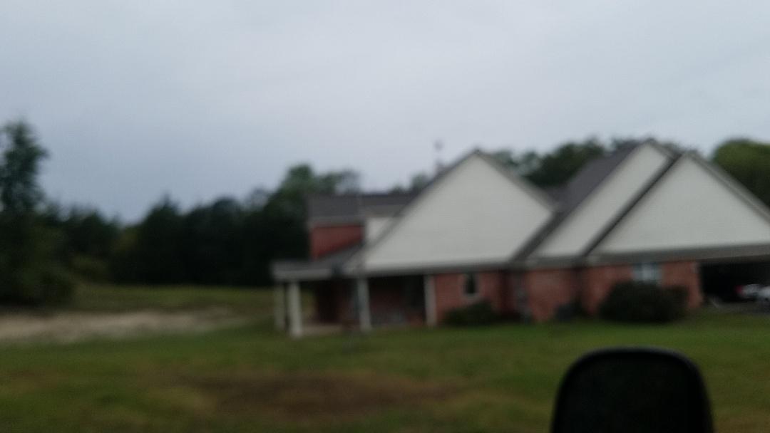 Anna, TX - Giving a gentleman a bid on the roof in Anna Texas
