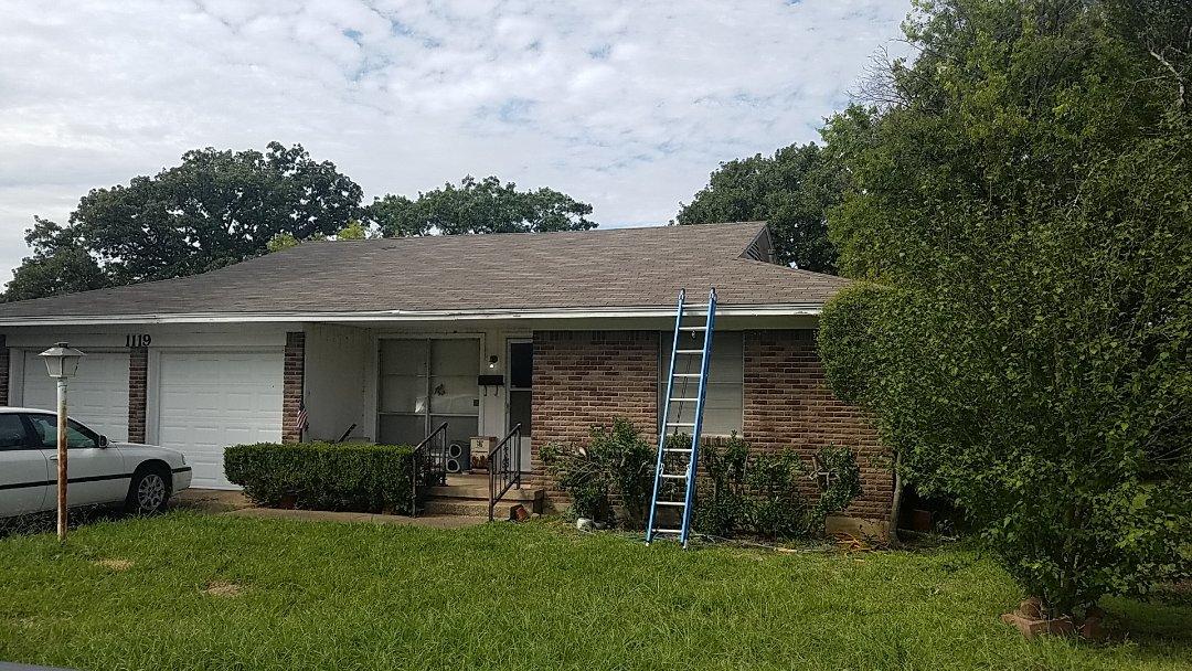 Sherman, TX - Doing a repair in Sherman Texas