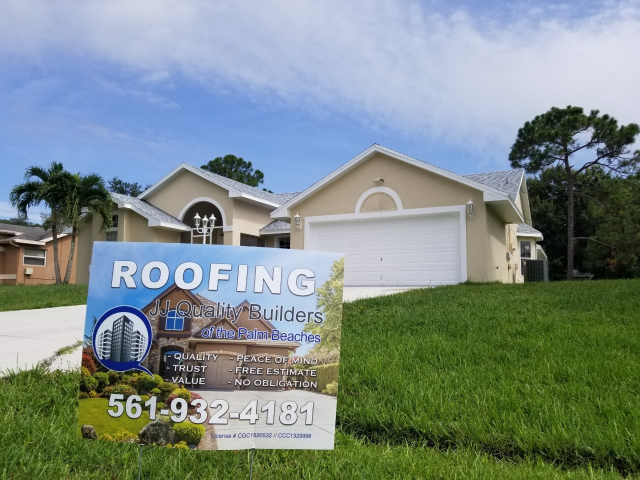 Port St. Lucie, FL - Beautiful new Owens Corning Asphalt Shingle Antique Silver Dimensional Shingles installed in Port St. Lucie, FL 34986