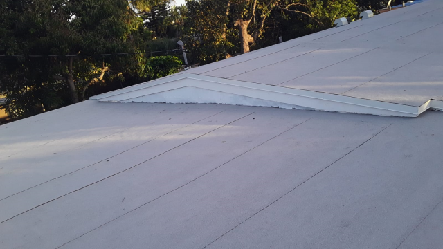 Jupiter, FL - Replaced with Mule-Hide Self Adhering Flat Roofing System.