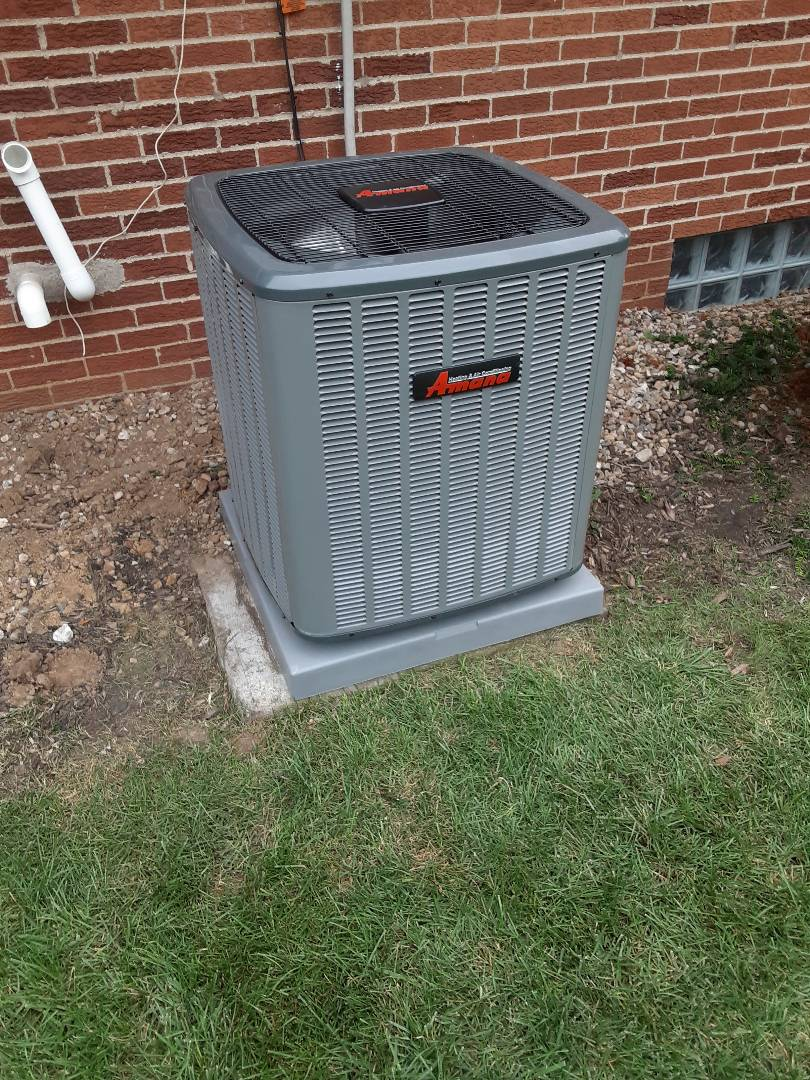 Columbus, OH - Amana furnace and air conditioner install
