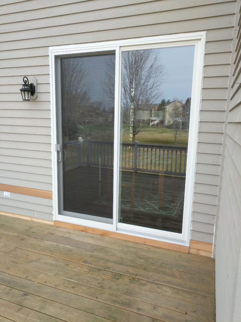 Eden Prairie, MN - Just finished a nice new 8ft patio door!