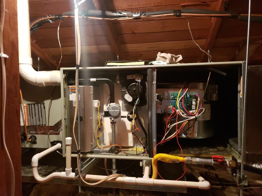 Boonville, CA - Service / Maintenance on trane furnace.