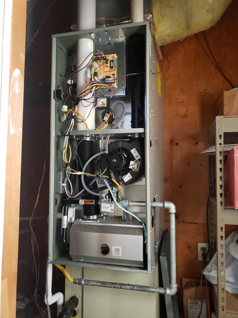 Boonville, CA - No heat service call American standard furnace