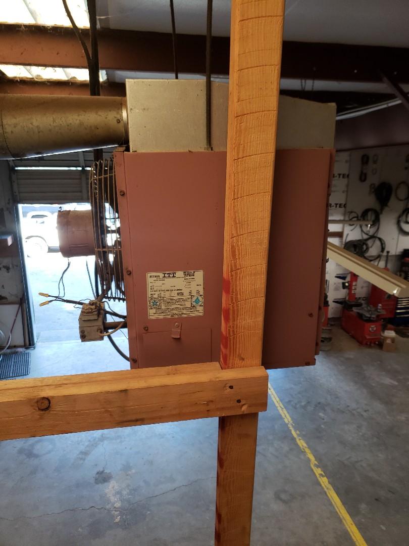 Ukiah, CA - Service call for reznor or heater