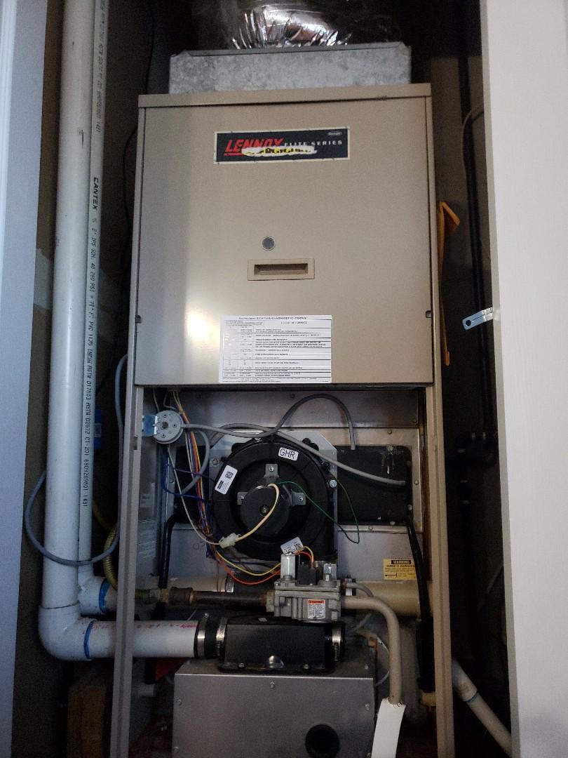 Service call Lennox furnace.