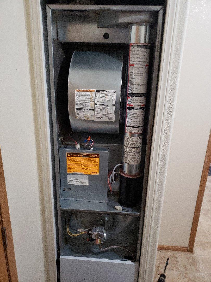 Yorkville, CA - Service call no heat on intertherm furnace