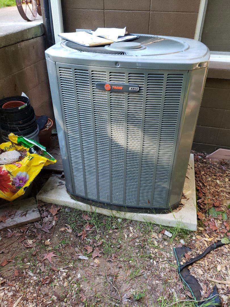Ukiah, CA - Service call condenser not working Trane