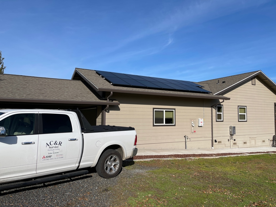 Redwood Valley, CA - Starting up another solar system we installed